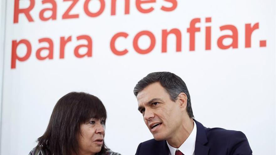 """Narbona dice que al PSOE le """"preocupa mucho"""" el auge de Vox"""