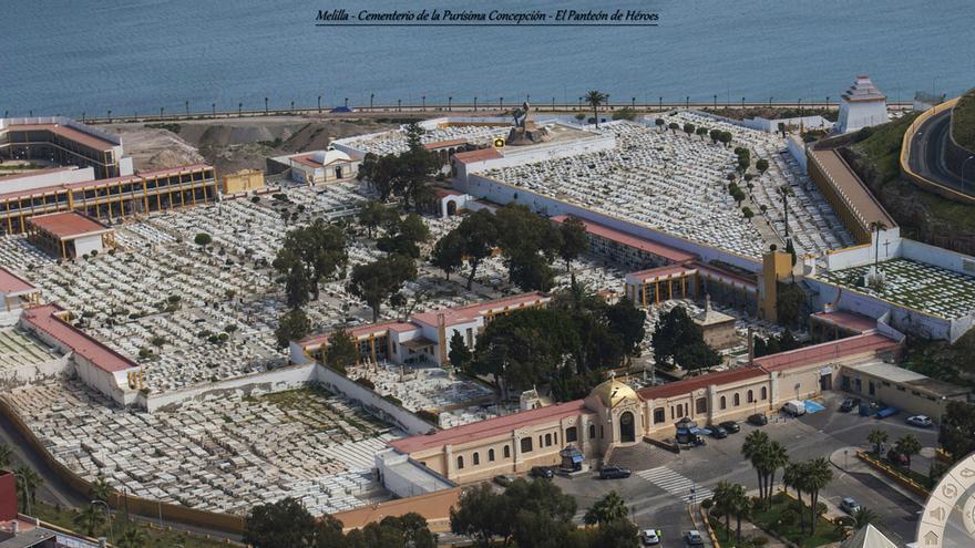 Captura de pantalla de la 'visita virtual' al Panteón de los Héroes de Melilla.