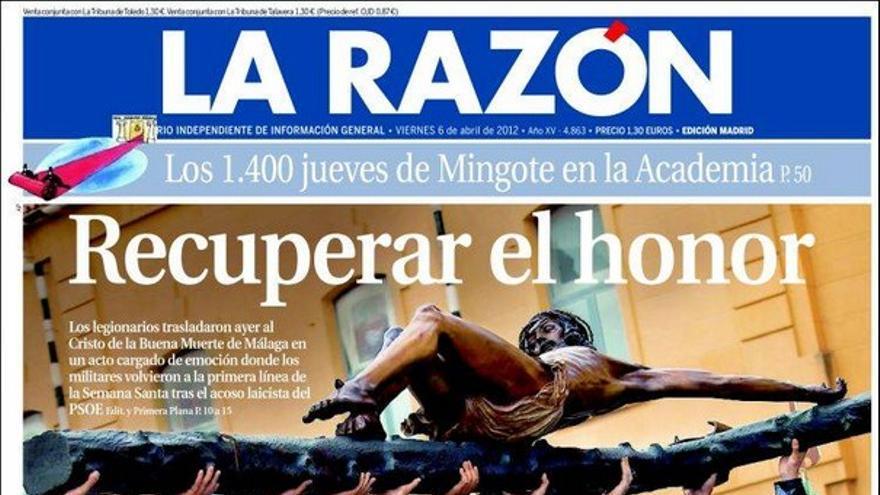 De las portadas del día (06/04/2012) #8