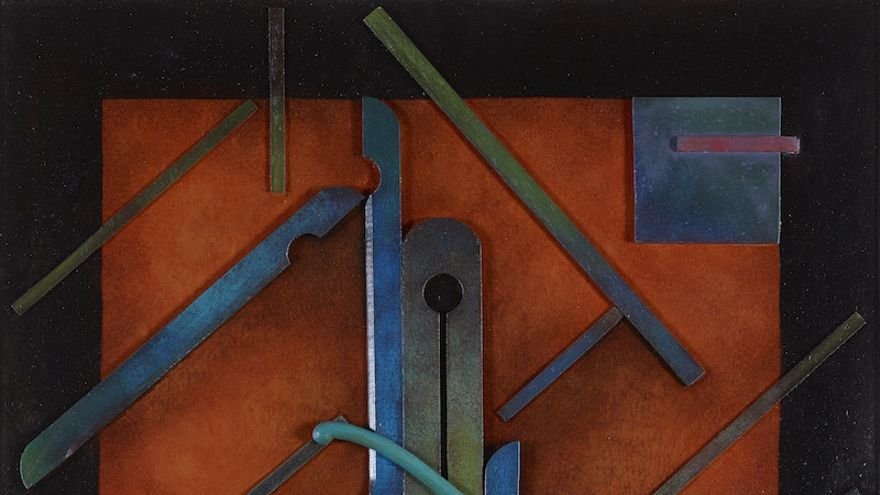Marc EEMANS, Kallomorphose V, 1924, painted