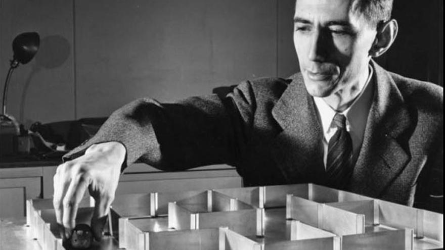 Claude Shannon. Imagen: Laboratorios Bell