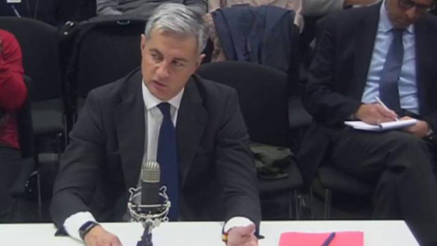 Ricardo Costa, en su declaración ante el juez del caso Gürtel.