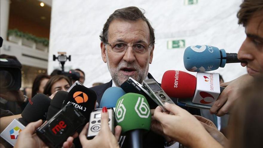 Rajoy acude con la delegación española a la votación para presidente del PPE
