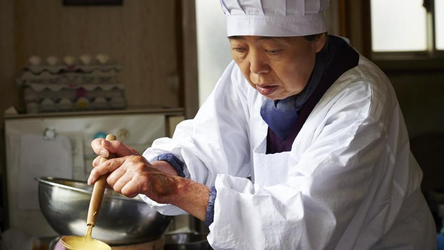 Tokue, la protagonsita de 'Una pastelería en Tokio'