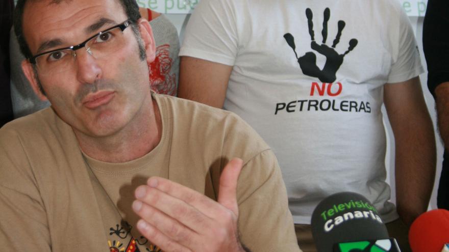 Rubén Martínez Carmona, portavoz de Sí se puede
