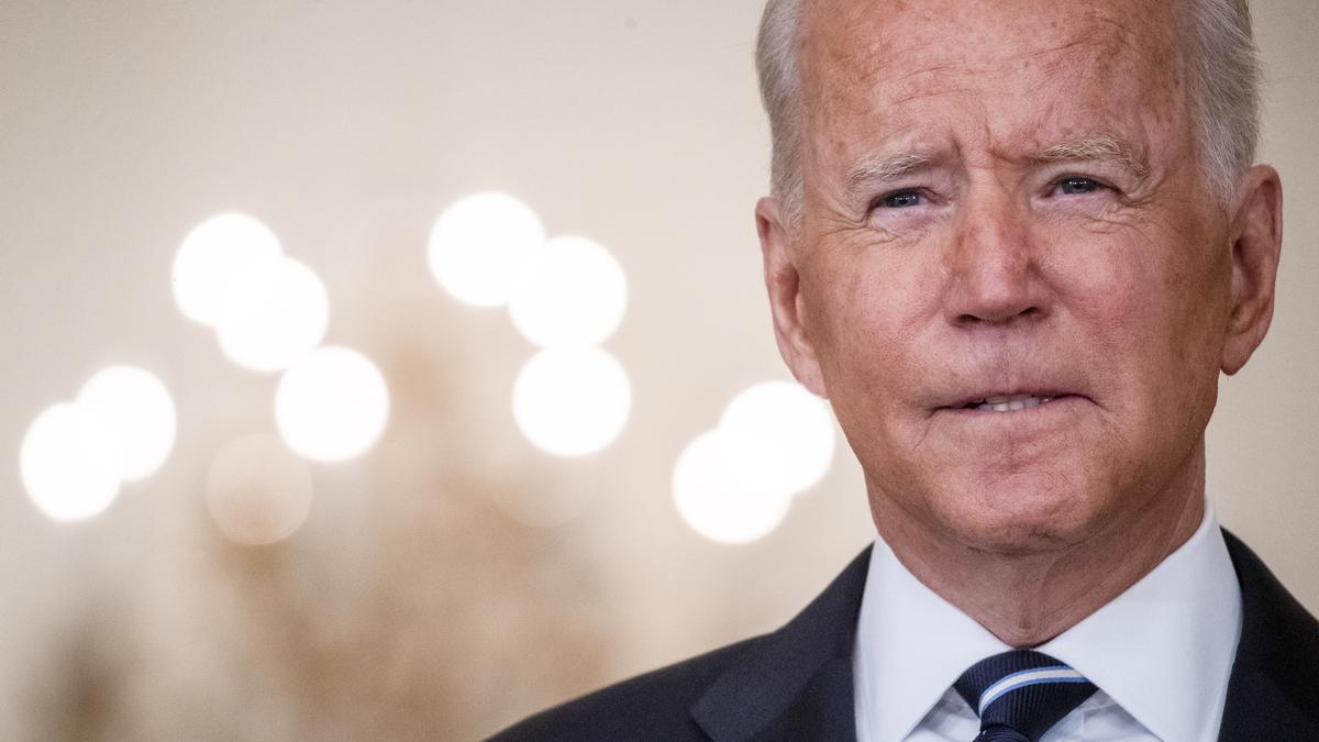 En la imagen, el presidente de EE.UU.,Joe Biden.