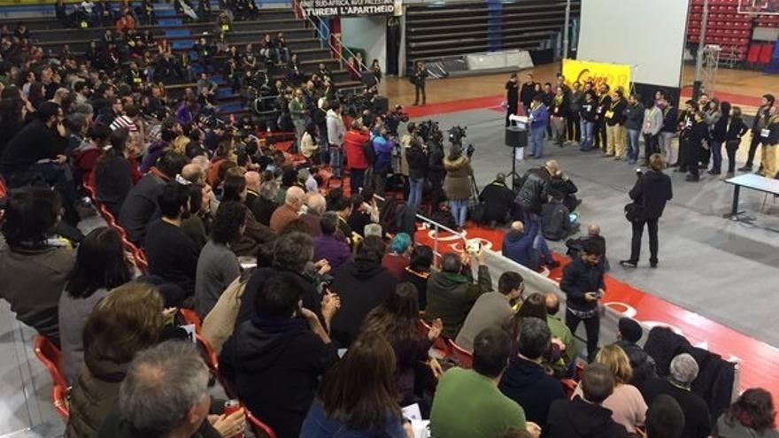 """Baños (CUP) asegura que """"todas las opciones"""" están abiertas y harán lo que vote la asamblea"""