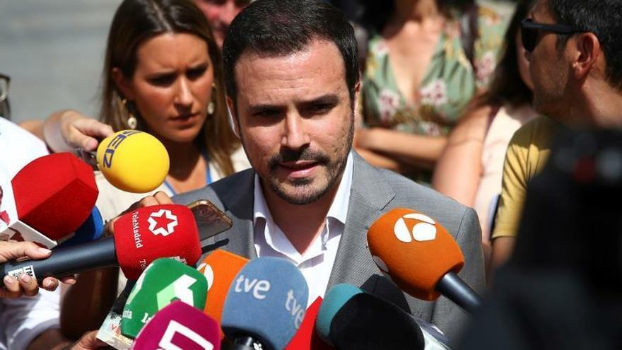 Los militantes de IU favorables a un Gobierno PSOE/Unidas Podemos
