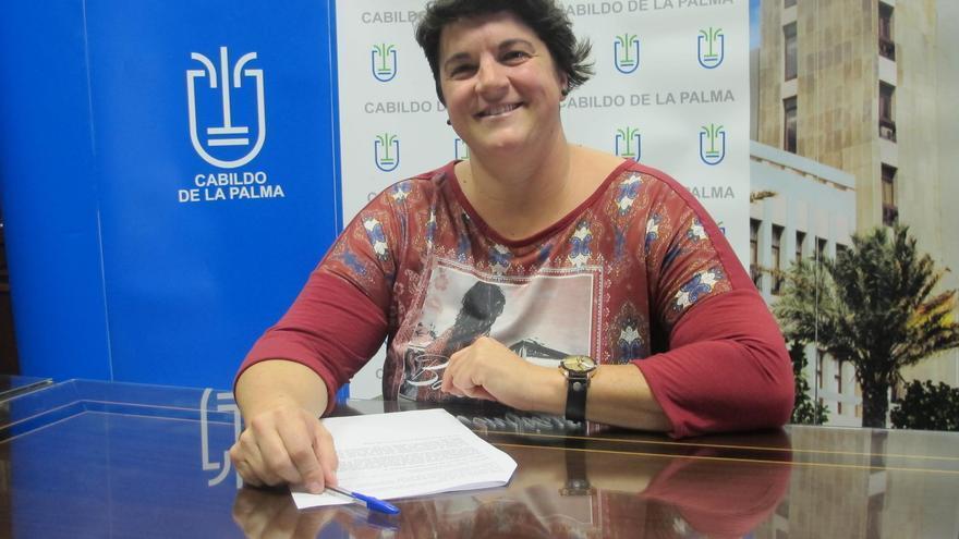 Ascensión Rodríguez, consejera de Deportes del Cabildo de La Palma.