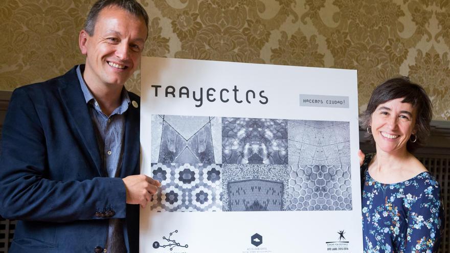 El concejal de Cultura, Fernando Rivarés, en la presentación del Festival Trayectos.
