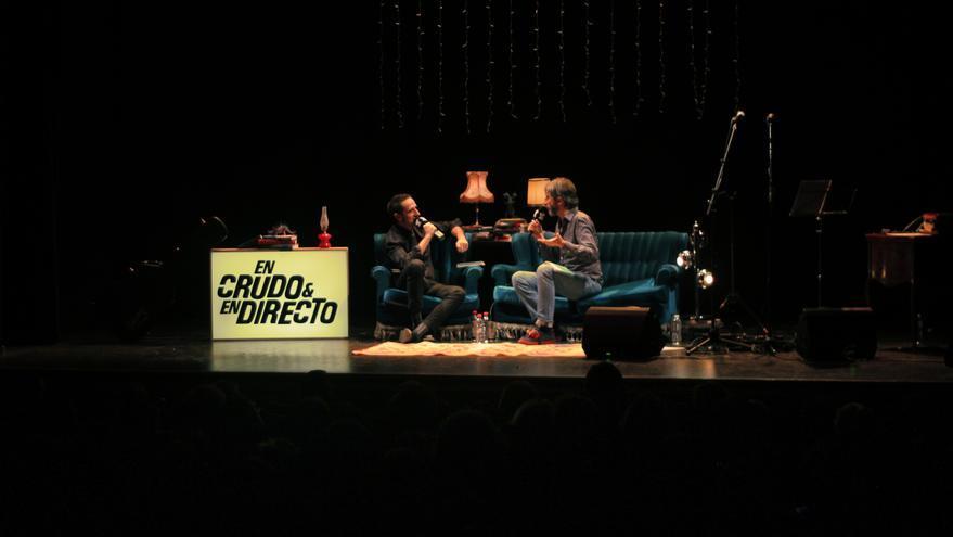 Xoel López en Carne Cruda (Teatro Arlequín)
