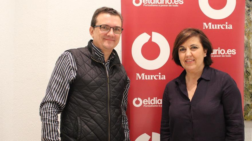 Miguel Garaulet en la redacción de eldiariomurcia