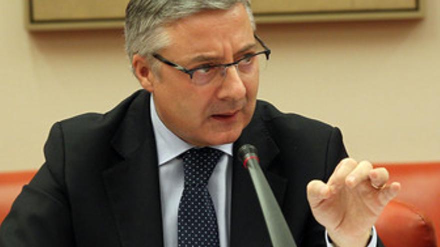 José Blanco, contrariado