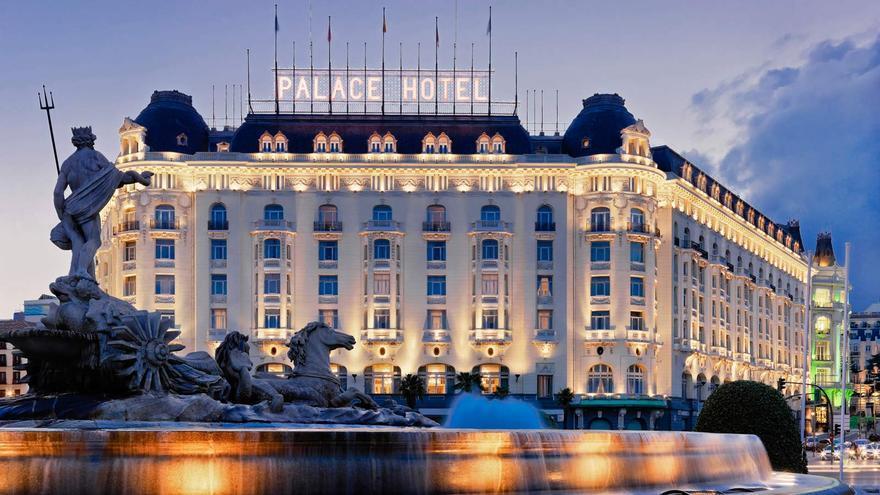 Hoteles como el Palace cobra el WiFi a sus clientes.