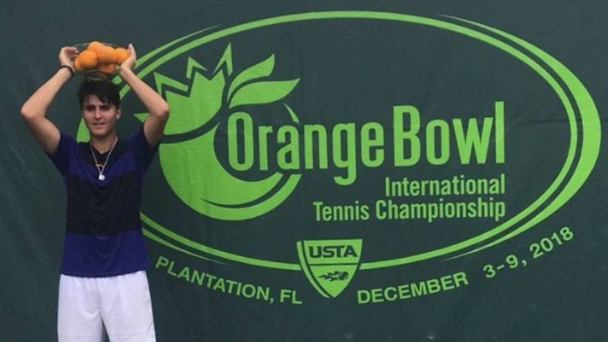Tenis: Pablo Llamas gana la Orange Bowl