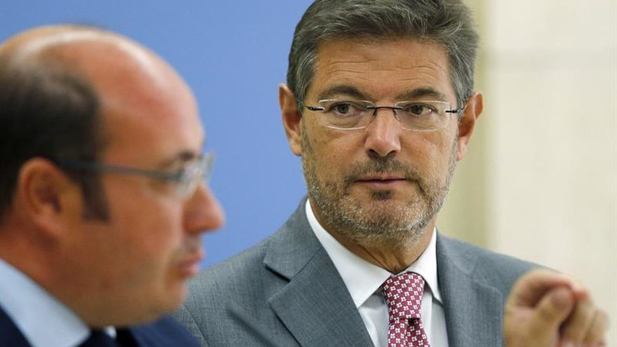 Catalá acusa a Homs de crear confusión y recuerda que la justicia es independiente