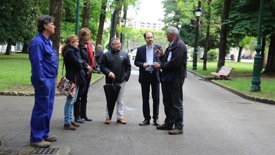 Ayuntamiento y SERCA analizan las necesidades y problemas de los parques y jardines de la ciudad