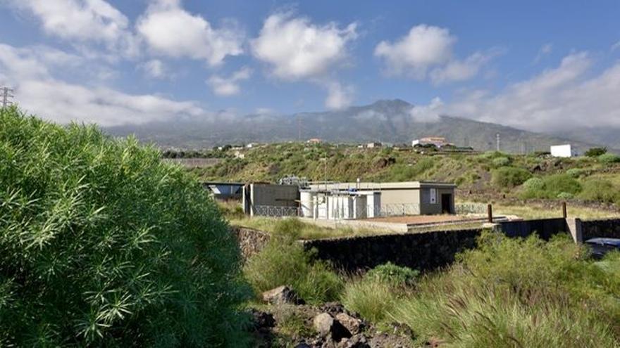 La vieja depuradora del Valle de Güímar, construida hace 20 años y no utilizada