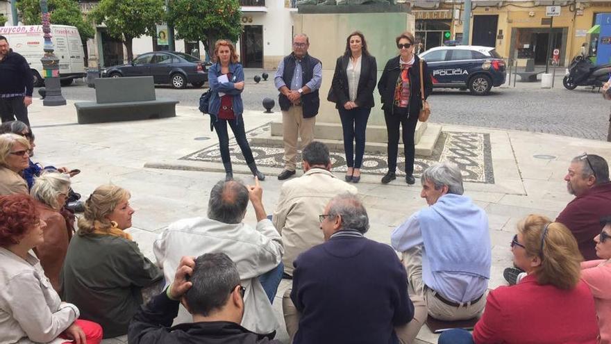 Badajoz ayuntamiento abierto Borruel