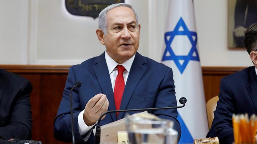 """Netanyahu defiende una polémica ley de identidad judía por el """"derecho de la mayoría"""""""