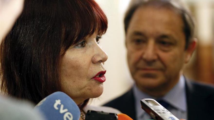 """Micaela Navarro cree que Heredia """"no piensa lo que dijo"""" del PSOE y Podemos"""