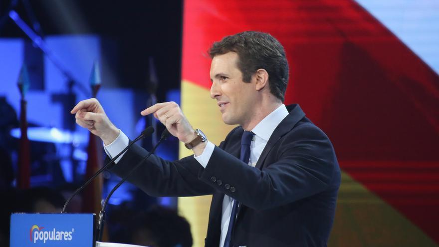 """Casado dice que no se puede """"unir España desuniendo el voto"""" y llama al PP a no mirar a otros: """"A lo nuestro"""""""