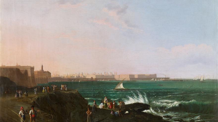 'Vista de Cádiz', de Manuel Barrón y Carrillo
