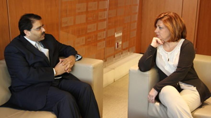Elena Valenciano y Ayman Zaineldine