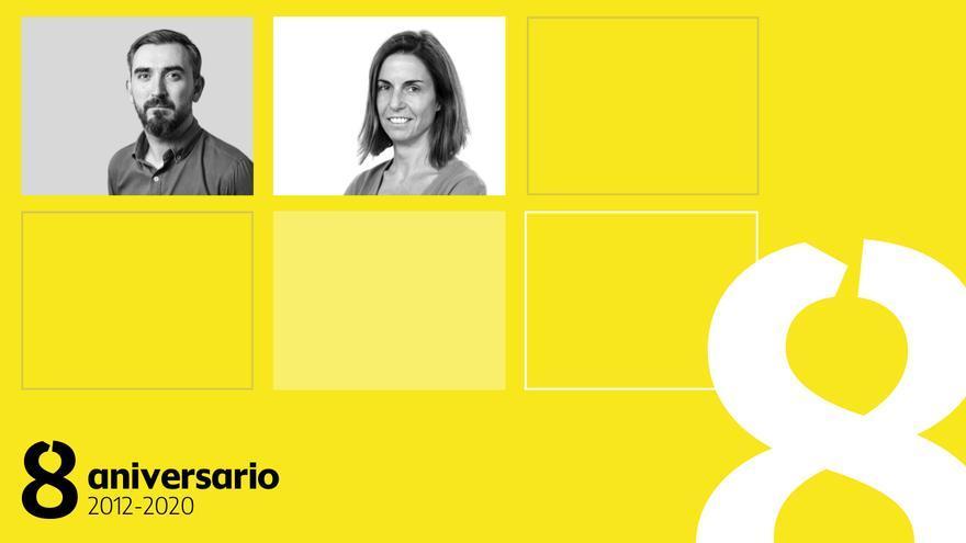 Inauguramos el Día de los socios y las socias en el 8 aniversario de elDiario.es