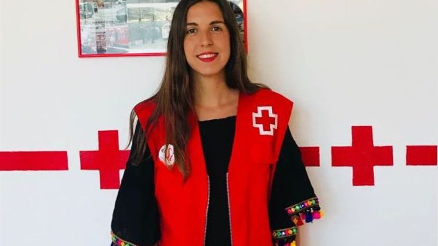 Rebeca Valcárcel es técnica de Cruz Roja y coordinadora del proyecto.