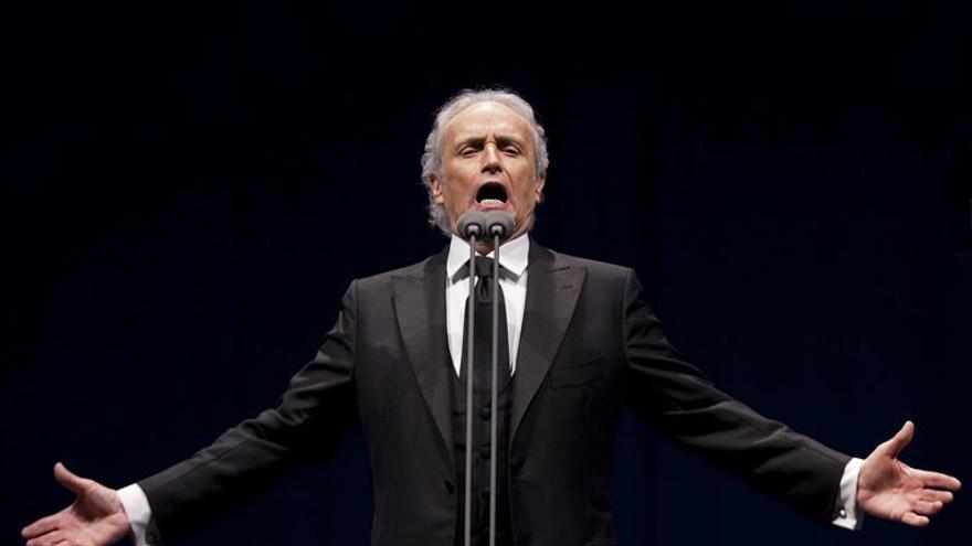 Memorable concierto benéfico reúne a José Carreras con Netrebko y Schrott