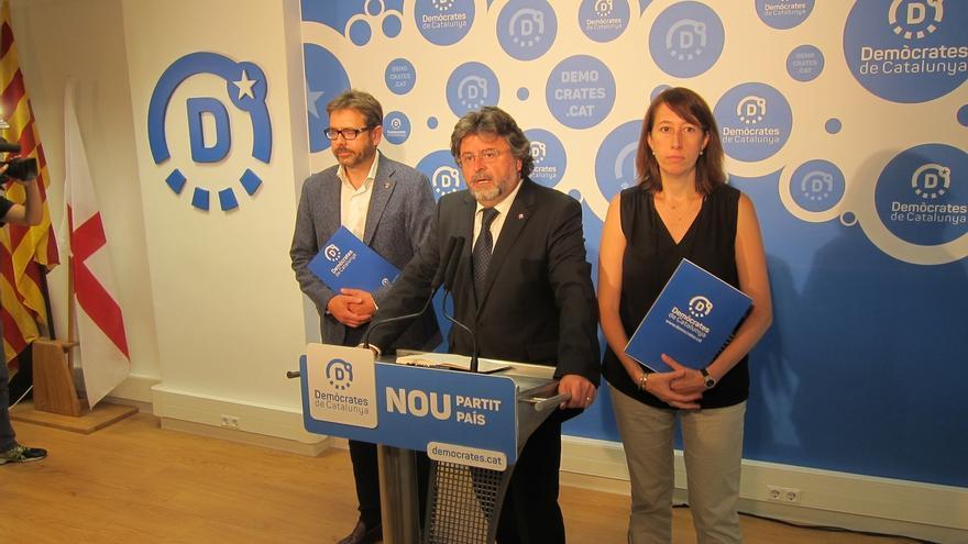 Demòcrates fija 4 condiciones al Partit Demòcrata Català para no llevarle a los tribunales