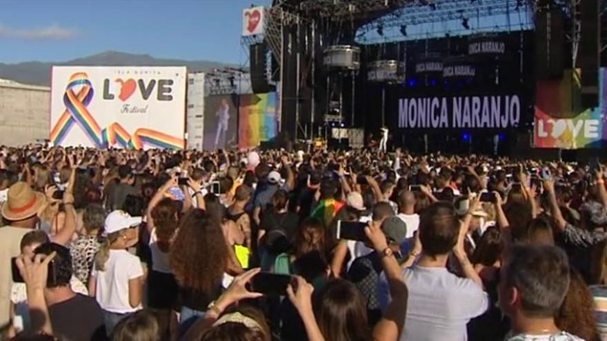 Imagen de archivo del Love Festival.