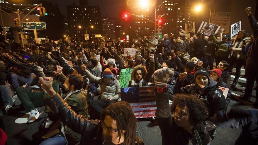 Protestas en Nueva York tras la muerte de Eric Garner /EFE