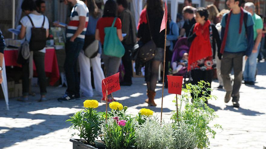 II Feria de Economía Solidaria de Madrid.