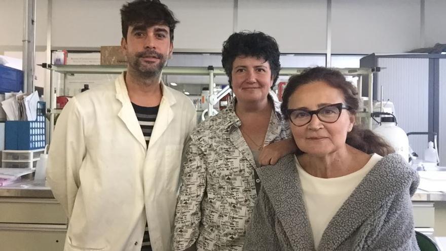 Los tres promotores de Ibersens Innova, en Guadalajara