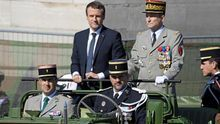 Dimite el jefe del Ejército francés, enfrentado a Macron por el presupuesto