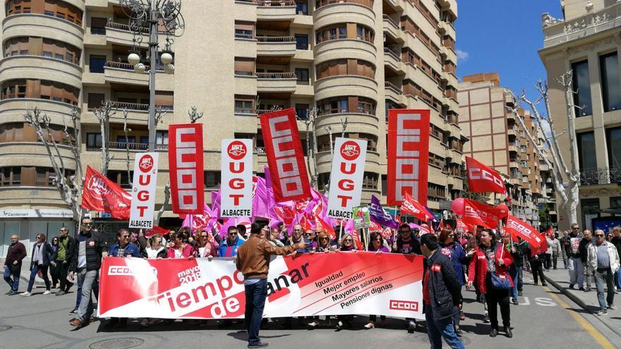 Manifestación en Albacete