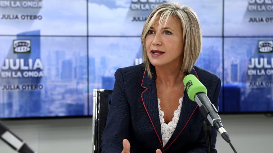 Julia Otero en 'Julia en la Onda'