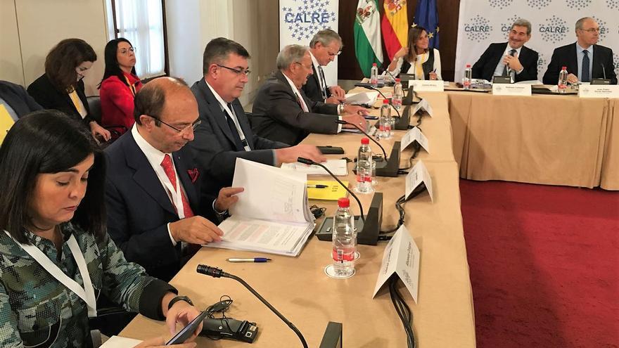 Enric Morera en el comité permanente de la CALRE celebrado en Sevilla