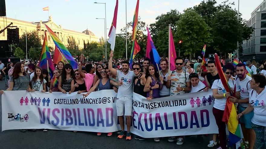 Bolo Bolo en manifestación de Madrid