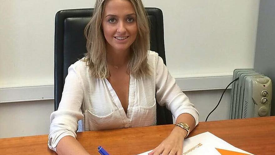 La delegada de grupos institucionales de Ciudadanos en Canarias, Teresa Berástegui.