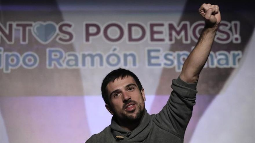 Ramón Espinar, afín a Pablo Iglesias, gana las primarias en Podemos Madrid