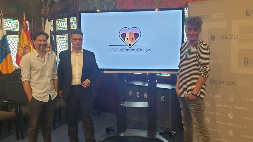 El Cabildo de Tenerife presenta la campaña #YoNoComproAmigos.