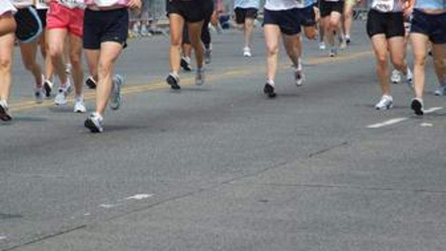 Mujeres corriendo