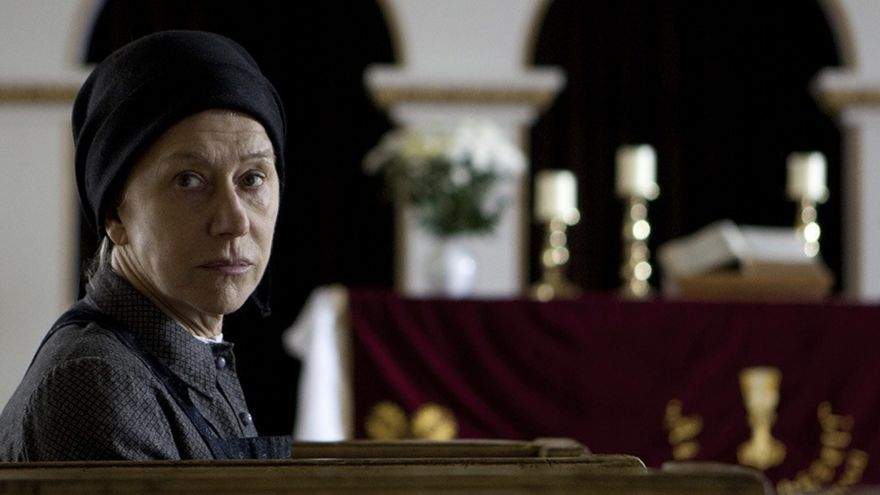 Helen Mirren en 'Tras la puerta' (István Szabó), adaptación cinematográfica de la novela.