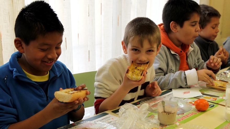 los comedores escolares o el reflejo de la situación de pobreza