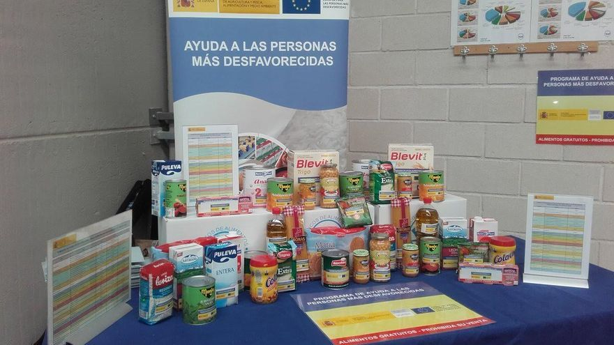 En Gran Canaria se repartirán 196.011 kilos de alimentos; en Lanzarote, 85.316; y en Fuerteventura, 6.770.
