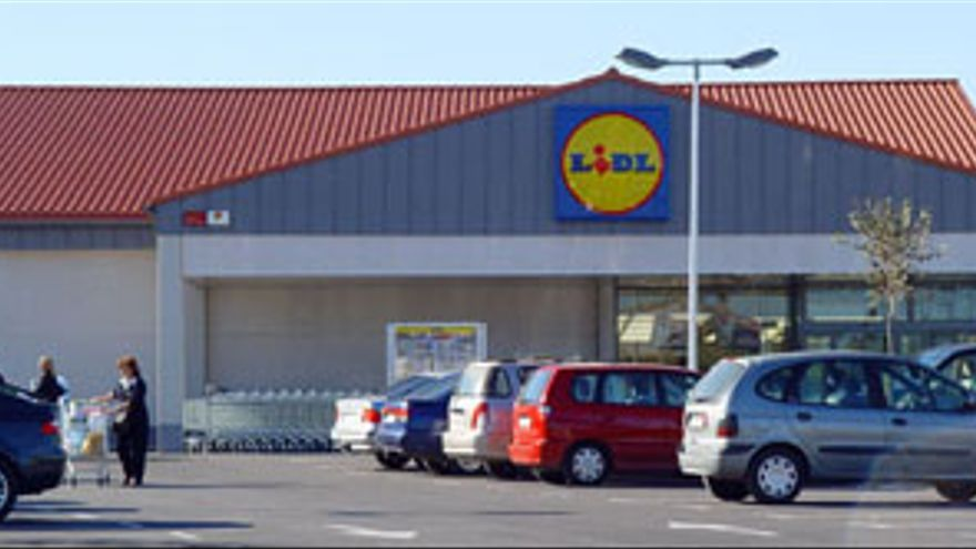 Centro comercial de Lidl. (CANARIAS AHORA)