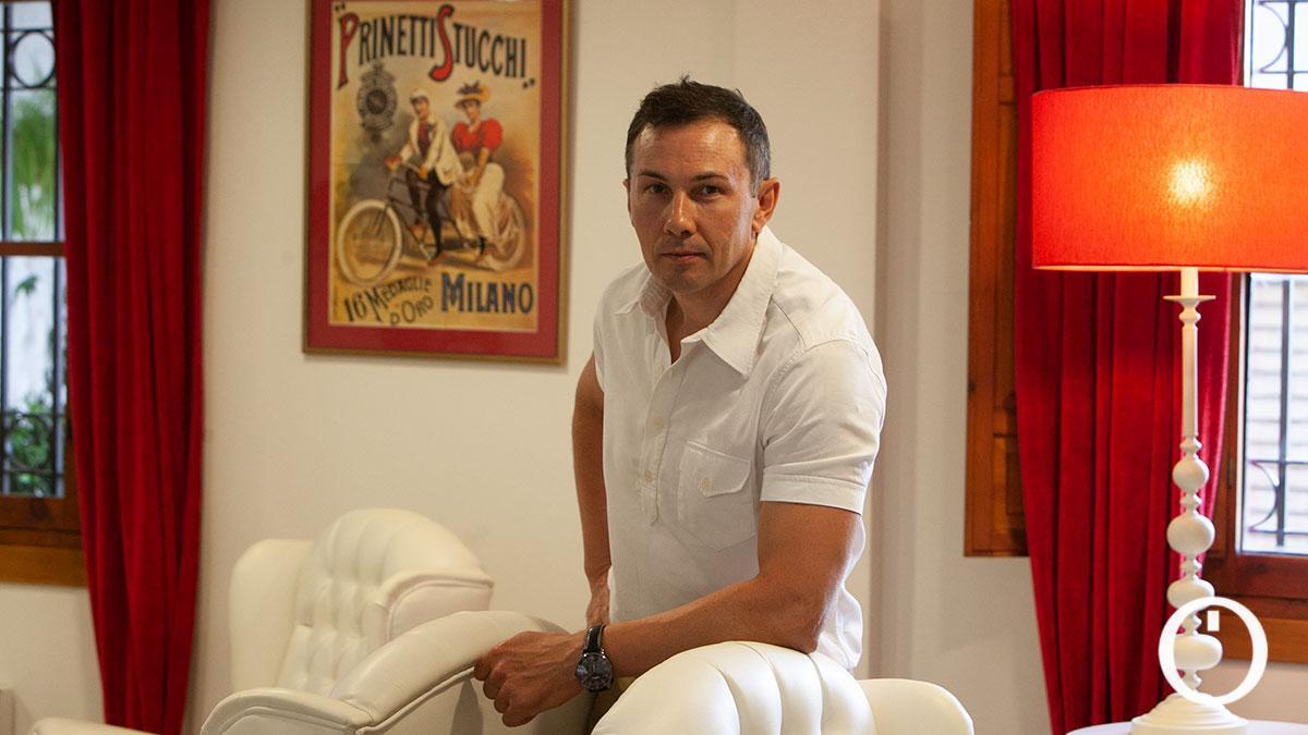 Pavel Tonkov, antiguo propietario de la Hospedería Atalia